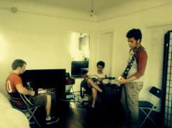 Jordan Sommerlad, Serhat Arslan, Quinn Dean, morning practice, Hollywood, CA
