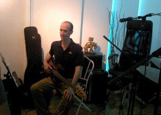Ian Walker Arimaka Studio, Oct 2013