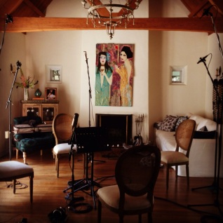 Ready for strings. Arimaka Studio, Los Feliz, CA, April 21, 2014
