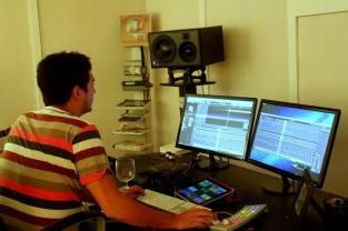 Manuel Jimenez, Oct 2013, Arimaka Studio, Los Feliz, CA