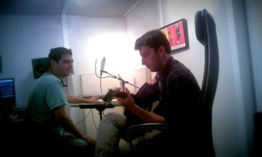 Manuel Jimenez, Serhat Arslan, Arimaka Studio, Los Feliz, CA. September 2014 - Alnilam