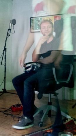 Jordan and Serhat's ghost at the studio