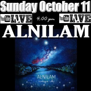 Alnilam oct 11 youtube flyer