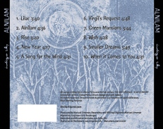 Back cover Indigo Sky CD